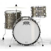 """Pearl 75th Anniversary President Deluxe 22"""" 3-Piece Drum Shell Pack - Desert Ripple Wrap"""
