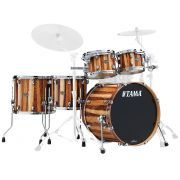 "Tama Starclassic Performer Maple/Birch 22"" 5-Piece Drum Shell Pack - Caramel Aurora"