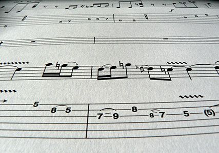 Wembley Music Centre - Guitar Tab