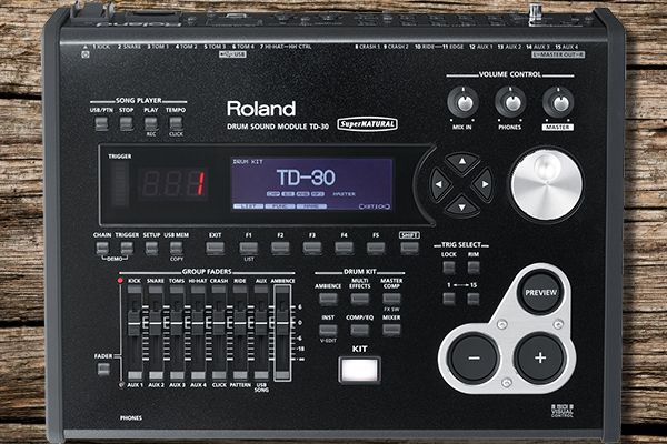 Roland TD-30 Module Close Up