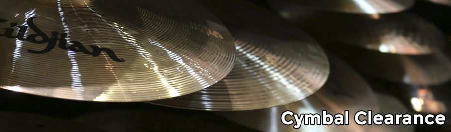 Cymbal Clearance Sale