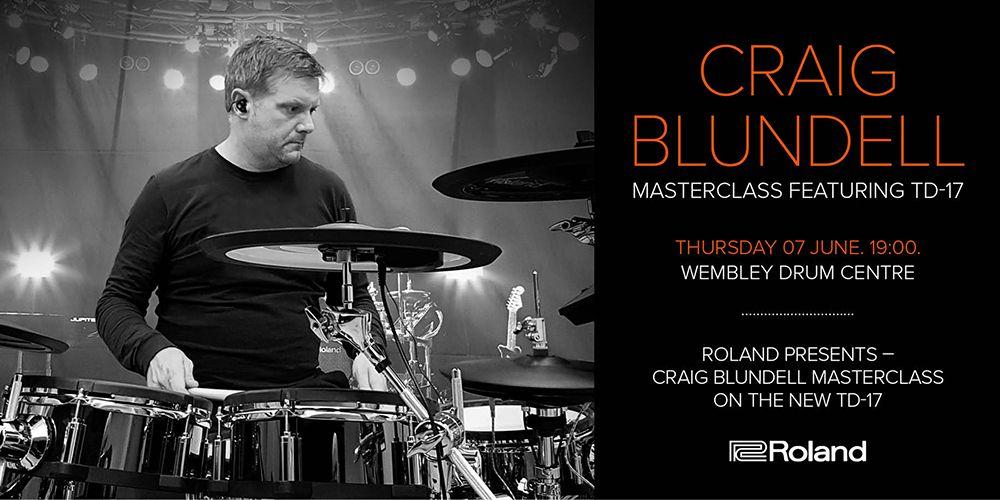 Craig Blundell Masterclass