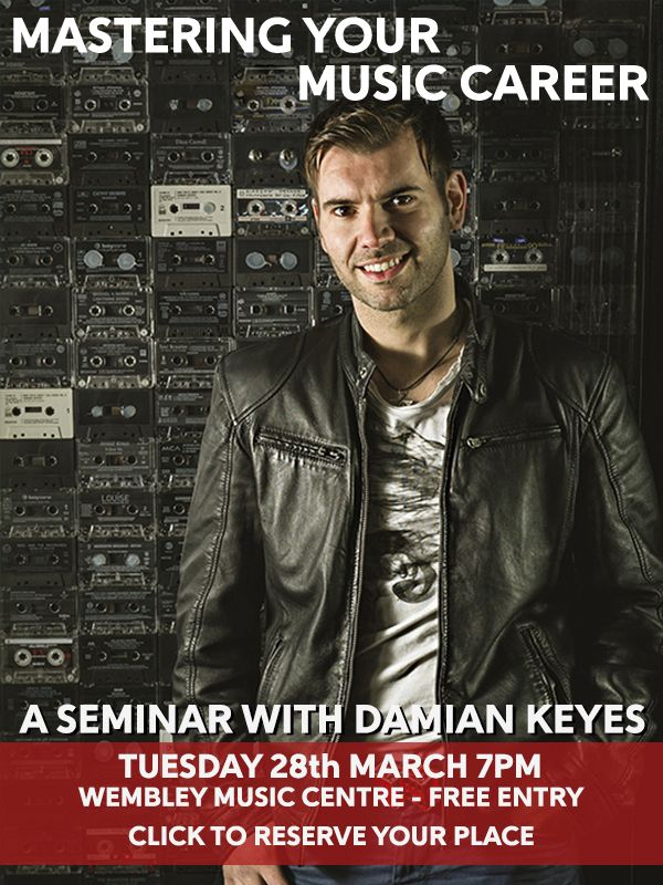 Wembley Music Centre - Damian Keyes