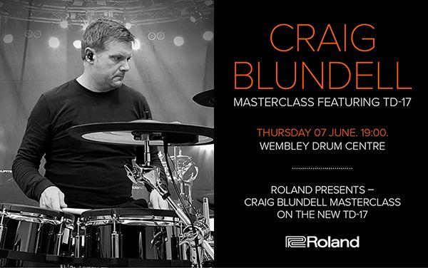 Wembley Music Centre - Craig Blundell Masterclass