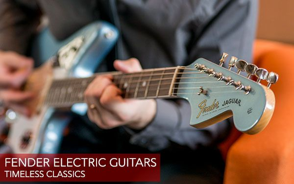 Wembley Music Centre - Fender Electric Guitars
