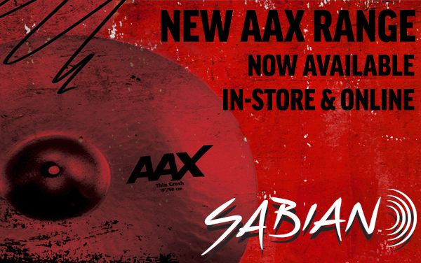 Wembley Music Centre - Sabian AAX