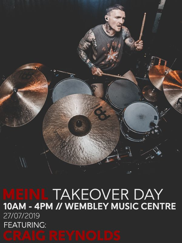 Wembley Music Centre - Meinl Takeover