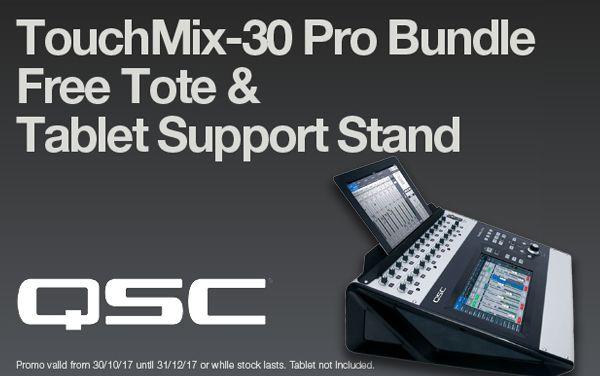 Wembley Music Centre - QSC TouchMix-30 Pro Promo