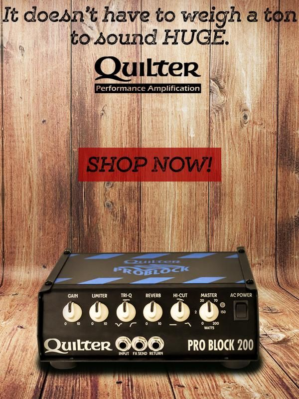 Wembley Music Centre - Quilter Amps
