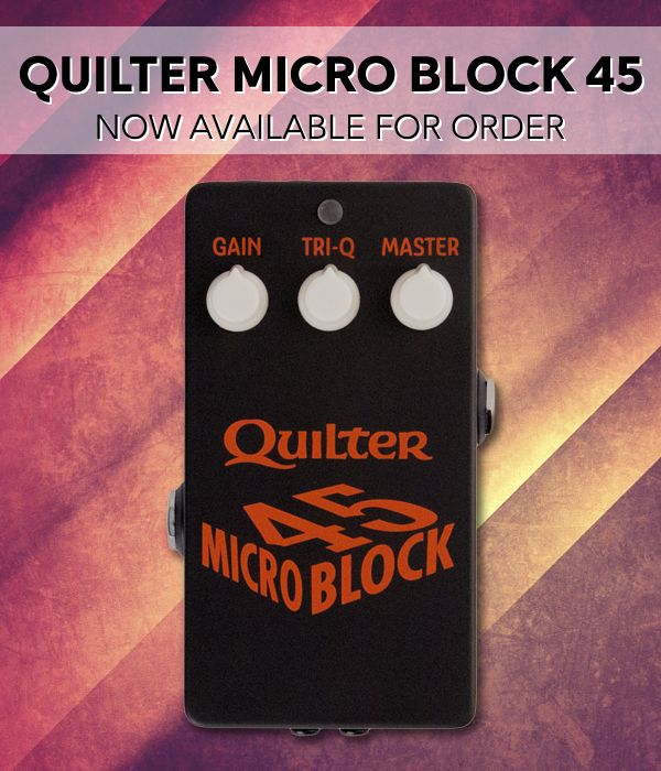 Wembley Music Centre - Quilter Micro Block Order