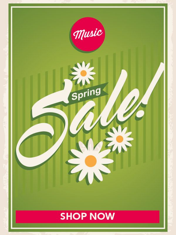 Wembley Music Centre - Spring Sale