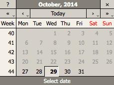 Wembley Music Centre - Calendar