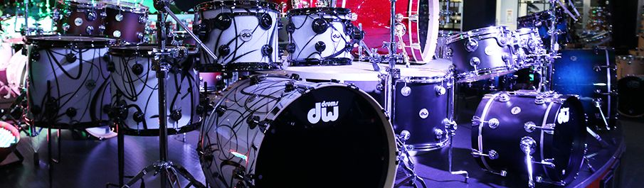 Wembley Music Centre - Acoustic Drum Kits