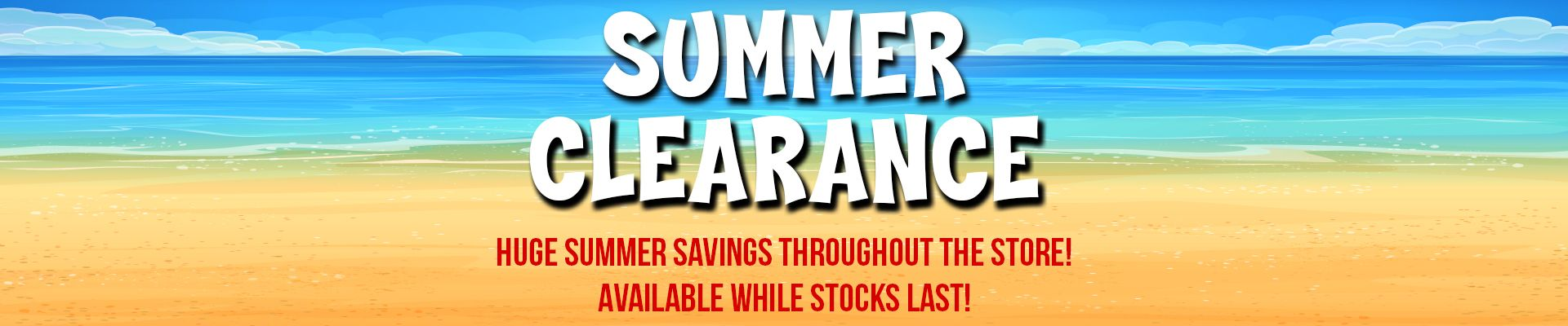 Wembley Music Centre - Summer Clearance Sale